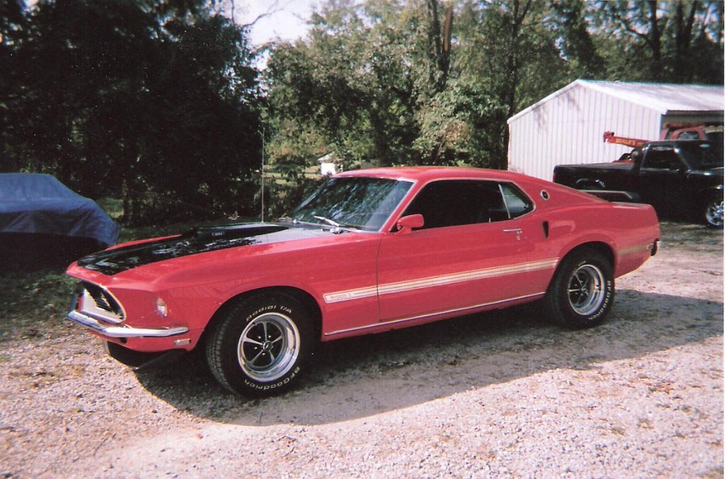 Seales Restoration Muscle Cars 1969 Ford Mustang Mach 1